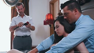Genocide hot wife Casey Calvert gets laid in front of say no to cuckold husband