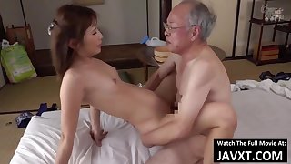 Exciting Asian Young Babe Had Sex by Grandpa - old increased by 18yo schoolgirl