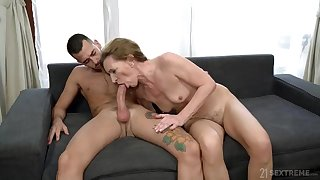 The Lusty Landlady With Hairy Pussy