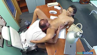 Oversexed doctor bangs his skinny amateur patient Shrima Malati